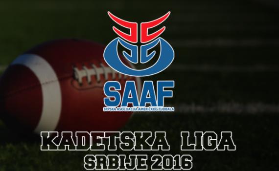 Kadetska liga Srbije 2017